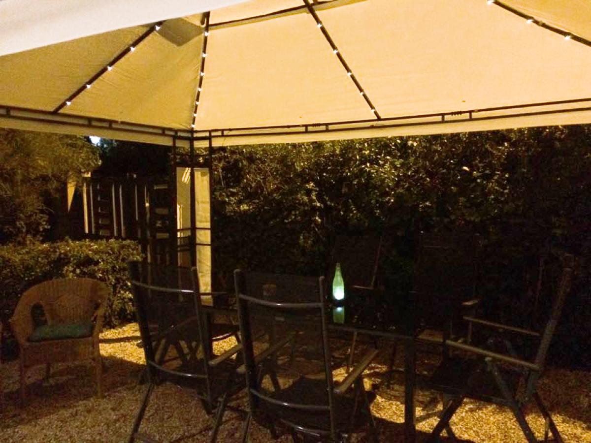 Profitez de la terrasse pour vos soirées